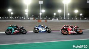 MotoGP 20 oyun içi görüntü