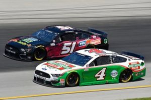 Kevin Harvick, Stewart-Haas Racing, Ford Mustang Hunt Brothers Pizza, Joey Gase, Petty Ware Racing, Ford Mustang