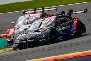 Лукас Ауэр, BMW Team RMG, BMW M4 DTM и Лоик Дюваль, Audi Sport Team Phoenix, Audi RS 5 DTM