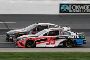 Clint Bowyer, Stewart-Haas Racing, Haas Automation Ford Mustang, Christopher Bell, Leavine Family Racing, Rheem/Watts Toyota Camry