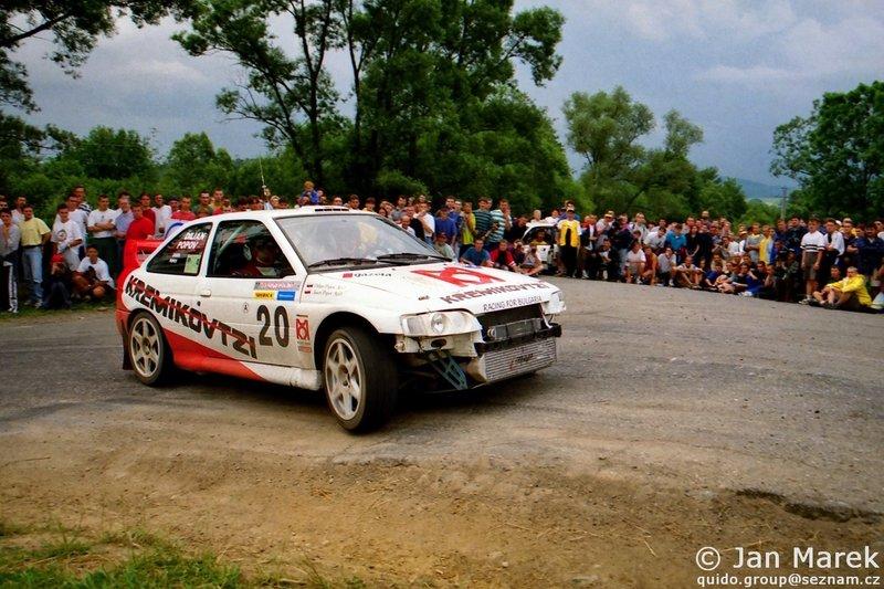 Jasen Popov , Dilian Popov, Ford Escort WRC, Rajd Polski 1998