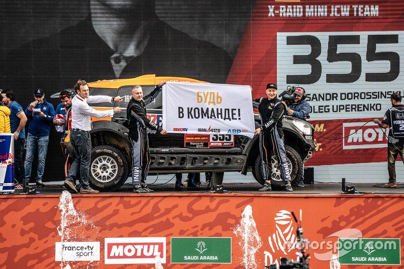 #355 X-Raid Mini: Aleksandr Dorossinskij, Oleg Uperenko