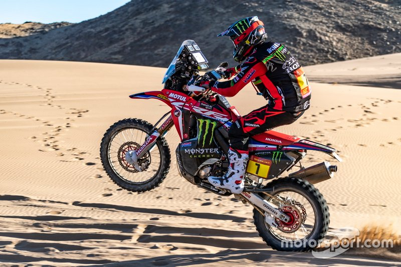 #7 Monster Energy Honda Team: Kevin Benavides