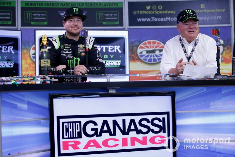 Kurt Busch, Chip Ganassi Racing, Chevrolet Camaro Monster Energy with Chip Ganassi
