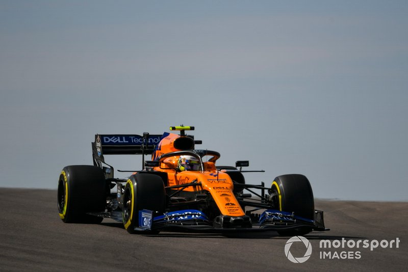 8º: Lando Norris, McLaren MCL34
