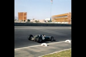 Jim Clark, Lotus, al GP del Messico del 1964