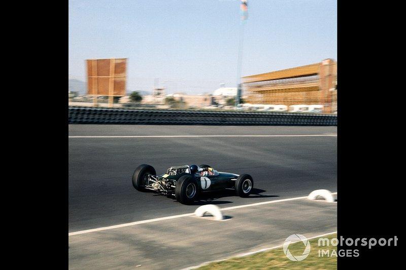 Jim Clark, Lotus, al GP del Messico del 1964
