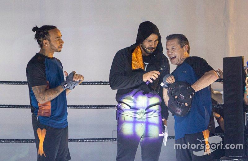 Lewis Hamilton, Mercedes y Julio César Chávez, excampeón mundial de boxeo