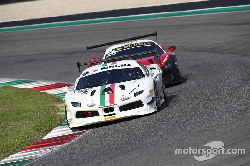 #86 Ferrari 488 Challenge, Gohm Motorsport: Germano Salernitano