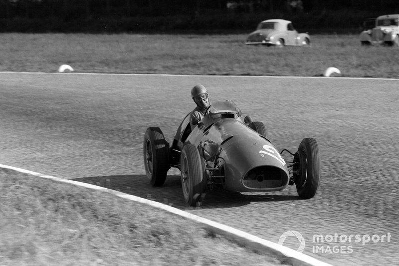 Alberto Ascari, Ferrari 500, al GP d'Italia del 1952