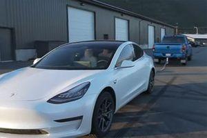 Ford F-150, Ram, Toyota Tacoma Versus Tesla Model 3