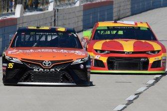 Matt DiBenedetto, Leavine Family Racing, Toyota Camry Procore, Kyle Larson, Chip Ganassi Racing, Chevrolet Camaro McDonald's