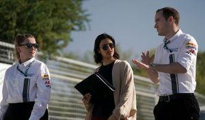 Reema Juffali, Jaguar VIP car cammina sulla pista