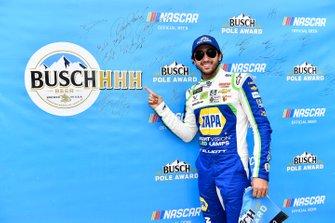 Chase Elliott, Hendrick Motorsports, Chevrolet Camaro NAPA Night Vision wins the pole