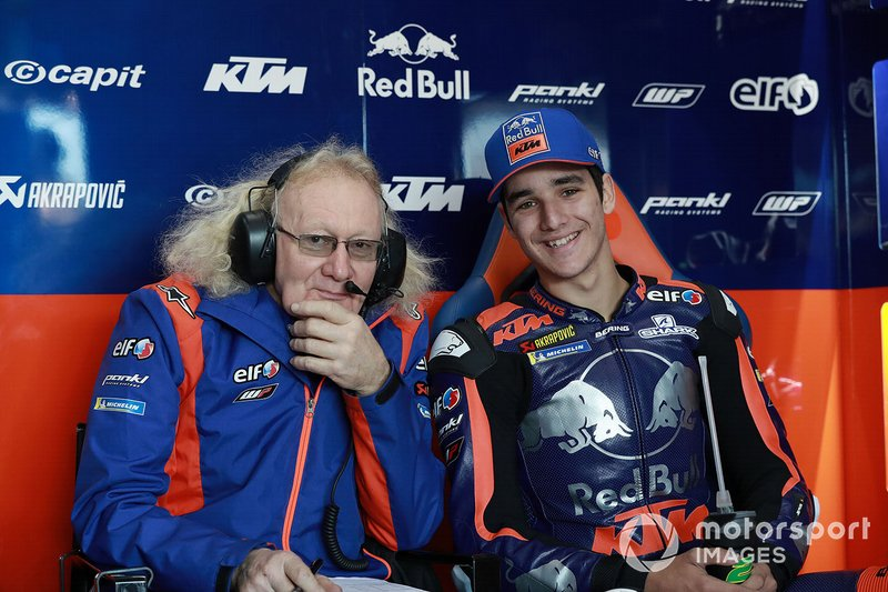 Guy Coulon, Iker Lecuona, Red Bull KTM Tech 3