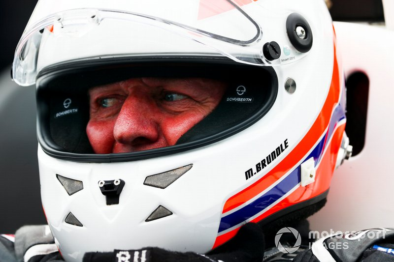 Martin Brundle, Sky TV getting into the McLaren MP4/4