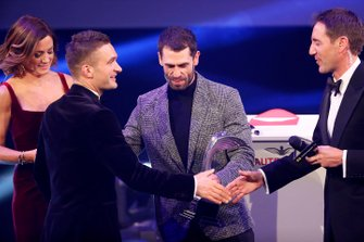 Presentation of the National Racing Driver of the Year award for Colin Turkington