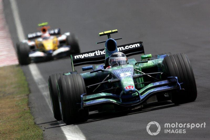 Rubens Barrichello (Honda) - Brésil 2007