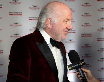 David Richards est interviewé à son arrivée