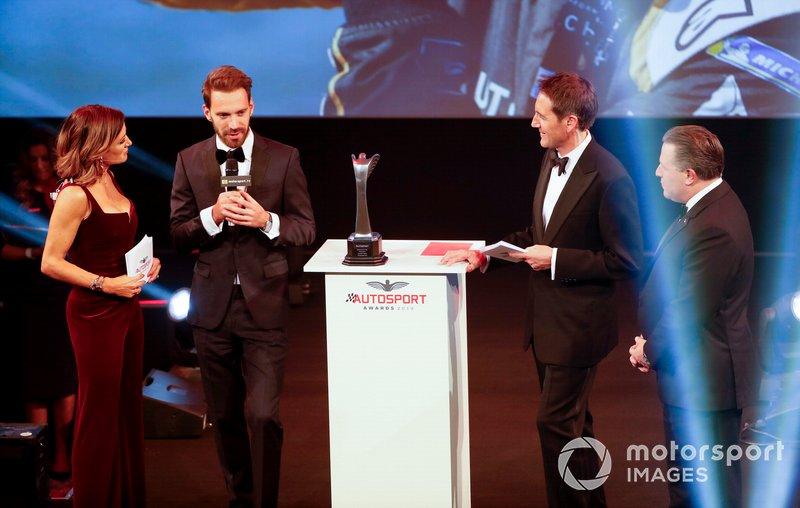 Jean-Eric Vergne recibe el premio Momento del Año
