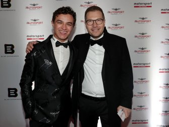 Lando Norris y Andreas Seidl, Team Principal, McLaren
