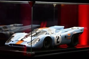 Porsche 917K model on display