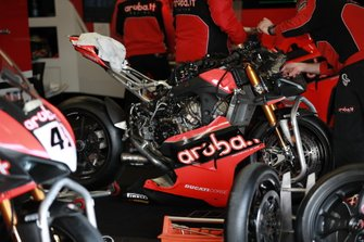 Motor van Chaz Davies, ARUBA.IT Racing Ducati