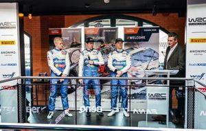 Гонщики M-Sport Ford WRT Гас Гринсмит, Теему Сунинен и Эсапекка Лаппи