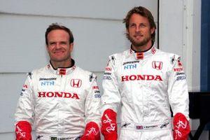 Rubens Barrichello, Honda Racing, Jenson Button, Honda Racing