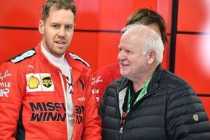 Sebastian Vettel, Ferrari et Norbert Vettel