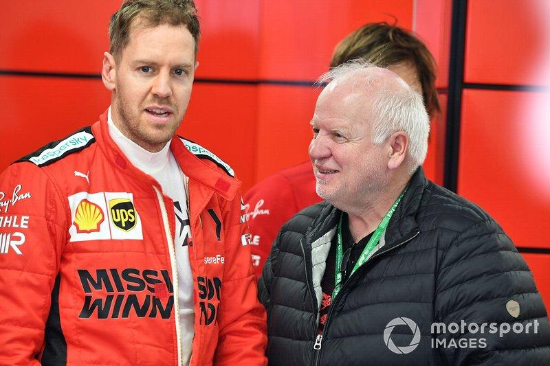 Sebastian Vettel, Ferrari e Norbert Vettel