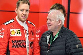 Sebastian Vettel, Ferrari and Norbert Vettel