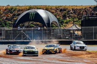 Тимо Шайдер, All-Inkl.com Münnich Motorsport, SEAT Ibiza, Тимур Тимерзянов, GRX Taneco Team, Hyundai i20, Антон Марклунд, GC Kompetition, Renault Mégane R.S. RX, и Кристиан Жабо, EKS Sport, Audi S1