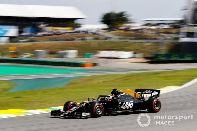 13º Romain Grosjean, Haas F1 Team VF-19 1:33:28.925