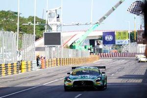 Race winner #999 Mercedes-AMG Team GruppeM Racing Mercedes AMG GT3: Raffaele Marciello