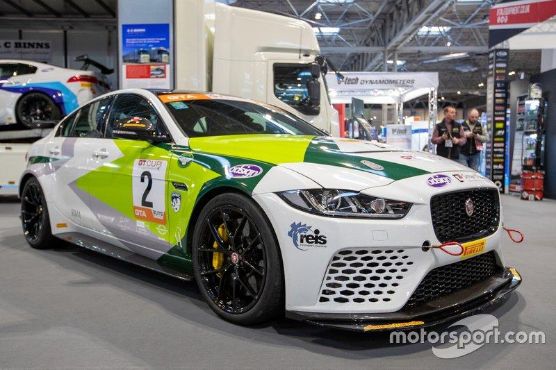 Coche de Jaguar Race