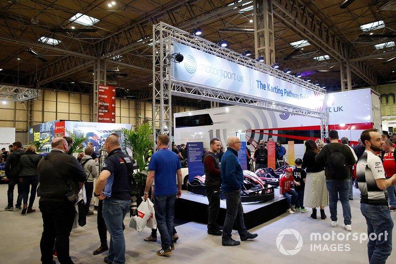 The Motorsport UK stand