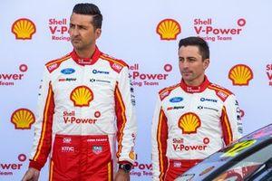 Fabian Coulthard, DJR Team Penske Ford, Tony D'Alberto, DJR Team Penske Ford