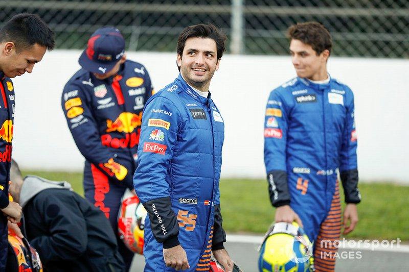 Carlos Sainz, McLaren y Lando Norris, McLaren