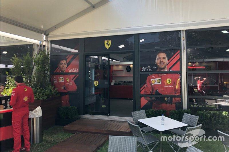 Hospitality de Ferrari