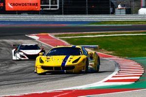 #7 GT3 Pro-Am, Vital Speed, Trevor Baek, Jeff Westphal, Ferrari 488 GT3