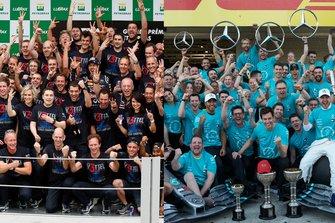 Red Bull Racing Campeón del Mundo y Mercedes AMG F1 Campeón del Mundo