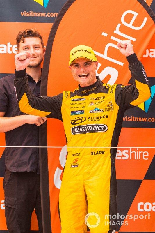 Podium: third place Tim Slade, Brad Jones Racing Holden