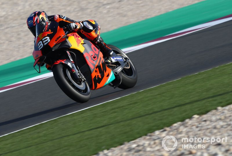 9º Brad Binder, Red Bull KTM Factory Racing - 1:54.283
