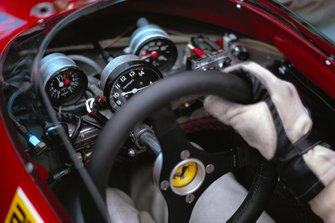 Ferrari 312B2 steering wheel