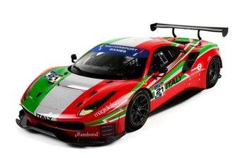 La livrea della Ferrari 488 GT3 di Giorgio e Gianluca Roda, AF Corse