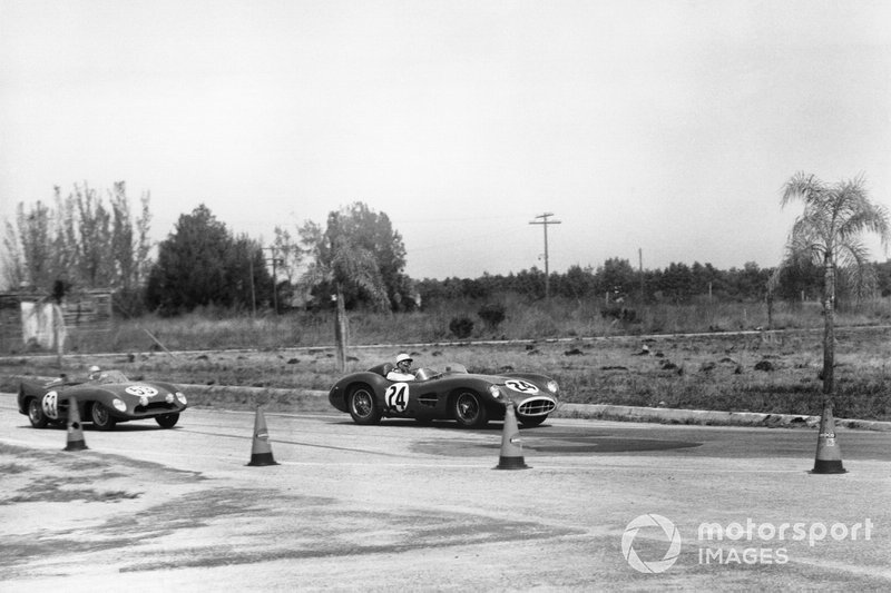 Stirling Moss, Tony Brooks, Aston Martin DBR1