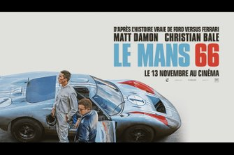 L'affiche du film Le Mans 66