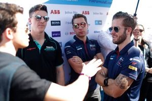 Ник де Врис, Mercedes-Benz EQ Formula E Team, Джеймс Каладо, Jaguar Racing, и Сэм Бёрд, Virgin Racing