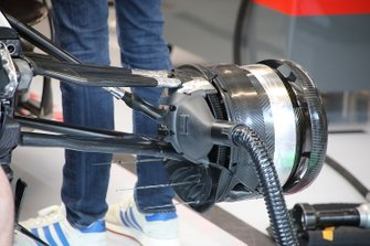 Haas F1 Team VF-20 front brake